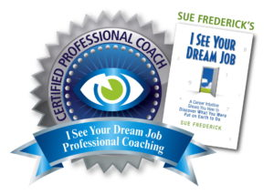 Certification seal for Professional Coach, Sue Frederick